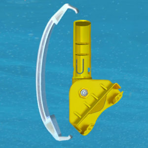 D2 Kit, Main Drain Clip-On Pool Maintenance Tool