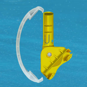 D1 MODIFIED Kit, Main Drain Clip-On Pool Maintenance Tool